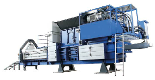 Europress Series of channel balers